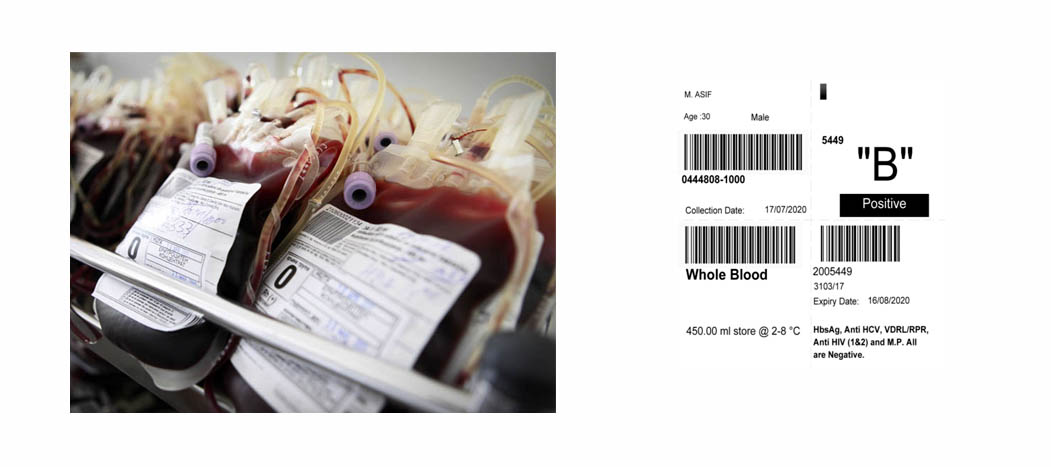 Online Blood Bank